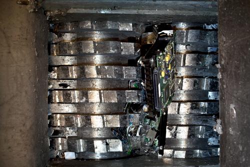 Carolina Shred Hard Drive Destruction